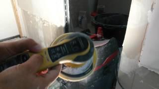 Чем шлифовать поверхность гипсовой штукатурки.(Примеры шлифовки стены с применением системы безпыльного шлифования Mirka Abranet., 2015-12-26T10:31:49.000Z)