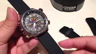 Replacing The Watch Band On The Citizen Promaster Eco Drive Altichron Youtube
