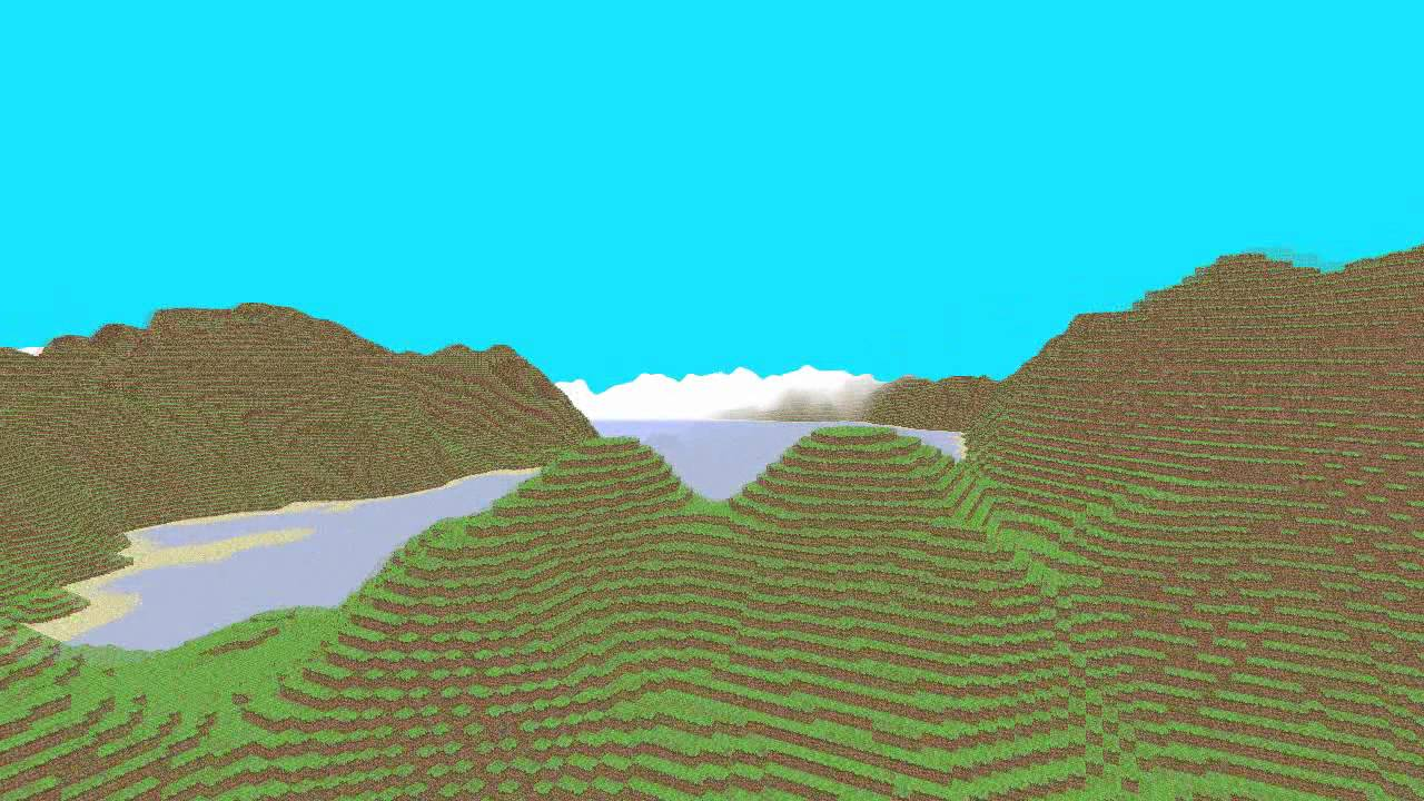 C++/OpenGL - Minecraft style terrain generator