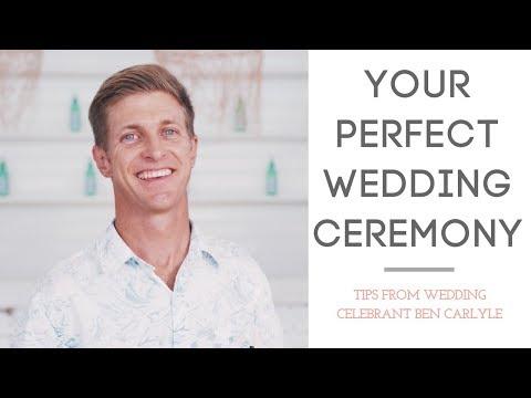 Perfect Wedding Ceremony - With Celebrant Ben Carlyle