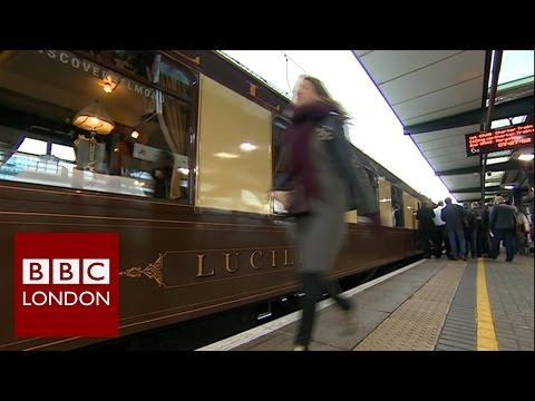 Southeastern rail service into Victoria replaced by a vintage 'Pullman' - BBC London News