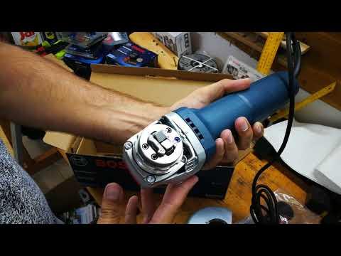 Видео обзор: Углошлифмашина X-LOCK BOSCH GWX 9-125 S 0.601.7B2.000