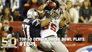 Top 10 Clutch Super Bowl Moments | NFL