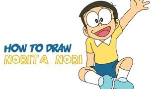 Drawing: How to Draw Nobita Nobi from Doraemon