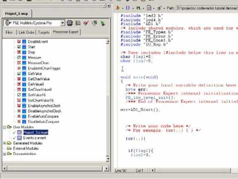 practica adc freescale hcs08