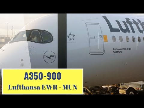 Lufthansa A350 900 Premium Economy FLIGHT REPORT ✈ LH 413 Newark   Munich ✈
