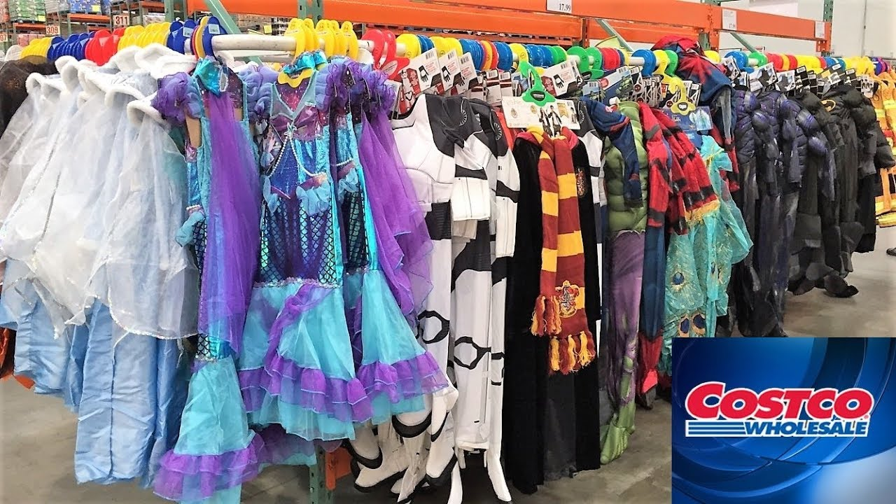 Costco Halloween Costumes Candy Decorations Shop With Me Shopping Store Walk Through 4k