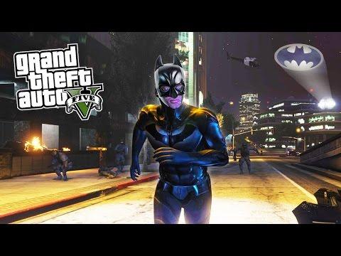 GTA 5 PC Mods - BATMAN MOD BATCLAW GRAPPLING HOOK! GTA 5 Batman Mod Gameplay! (GTA 5 Mods Gameplay)