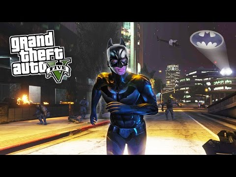 GTA 5 PC Mods - BATMAN MOD BATCLAW GRAPPLING HOOK! GTA 5 Batman Mod Gameplay! (GTA 5 Mods Gameplay)