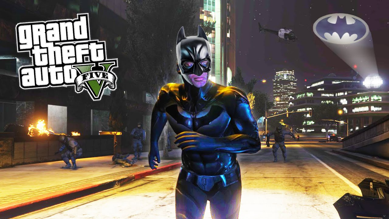 GTA 5 PC Mods: Iron Man, Hulk, Batman and Terminator Mod