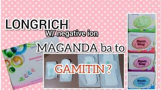 LONGRICH w/ NEGATIVE ION | comfortable sanitary napkin