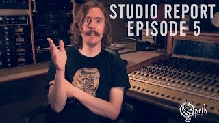 OPETH - Sorceress: Studio Report - Episode 5: Vocal Recordings