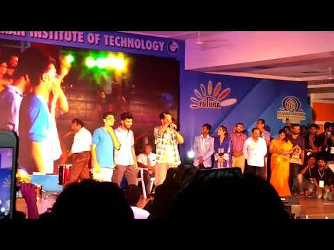 Hiphop tamizha live performance in BIT