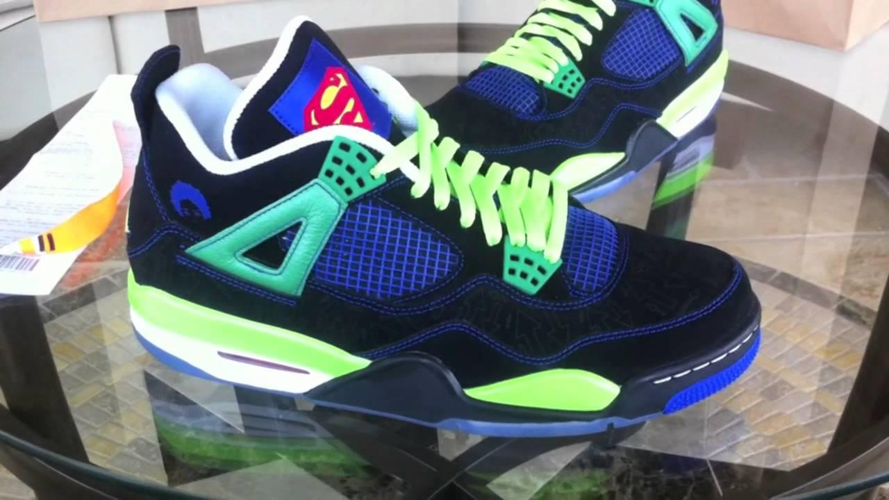 Air Jordan 4 Retro Doernbecher By Isaiah Scott shoes