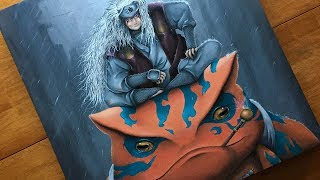 Painting Jiraiya | COMMISSION