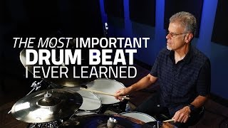 The Most Important Beat I Ever Learned - David Garibaldi (Drumeo)