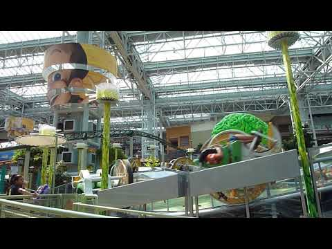 Brain Surge at Nickelodeon Universe, Mall of America