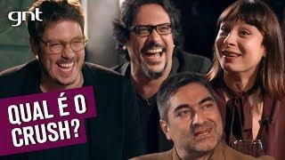 Lúcio Mauro Filho, Zeca e Katiuscia contam seus crushs da infância | Que História É Essa, Porchat?