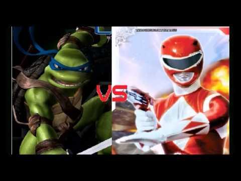 Power Rangers vs Teenage Mutant Ninja Turtles Full