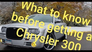 WATCH THIS VIDEO BEFORE BUYING A GEN 1 Chrysler 300C!