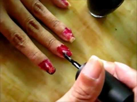 Halloween zombie nail art tutorial youtube halloween zombie nail art tutorial prinsesfo Choice Image