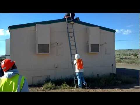 How Not To Get Off A Ladder From A Roof Doovi