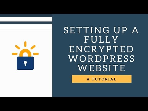 Setting up a full encrypted wordpress site in 5 minutes