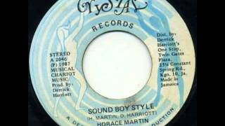 Horace Martin   Soundbwoy Style A K A Sound Boy Style Youthman Riddim     YouTube
