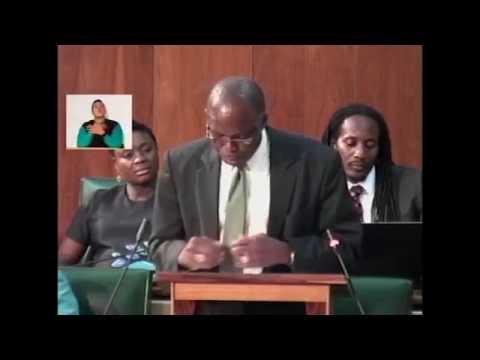Sectoral Debate Presentation by Hon. Everald Warmington - July 06, 2016