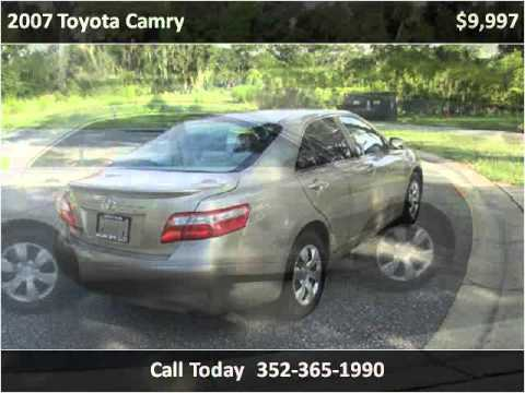 2007 Toyota Camry Used Cars Leesburg FL