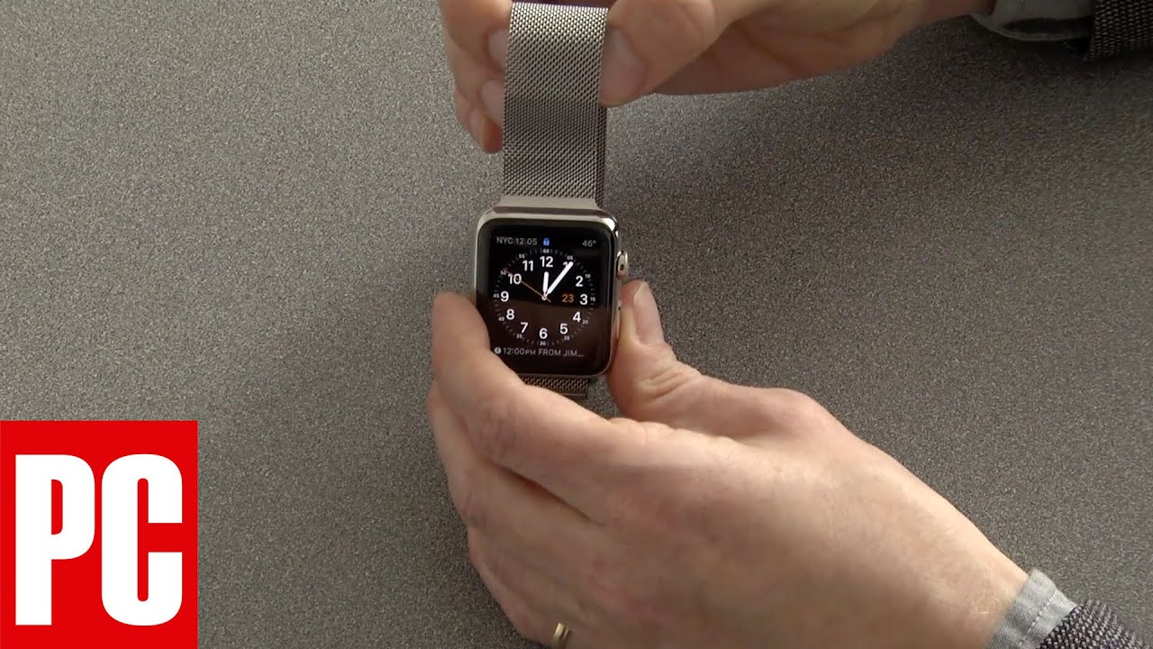 How to swap my apple watch band