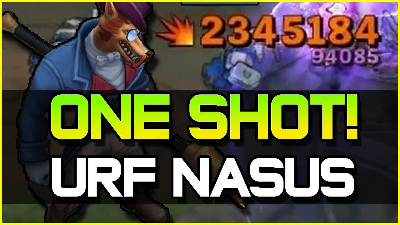 duskblade nasus one shots top league of legends Nasus the Doge LOL Nasus Build