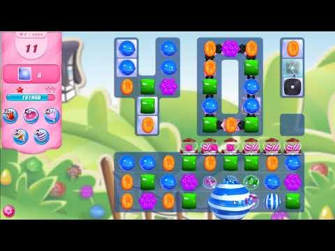 Candy Crush Saga Level 5066 NO BOOSTERS