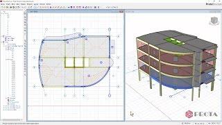 ProtaStructure ile Modelleme - Kiriş Duvar Yükleri