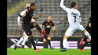 Manchester United vs LASK 2 1 / All goals and highlights / match review / 05.08.2020 / Europa League
