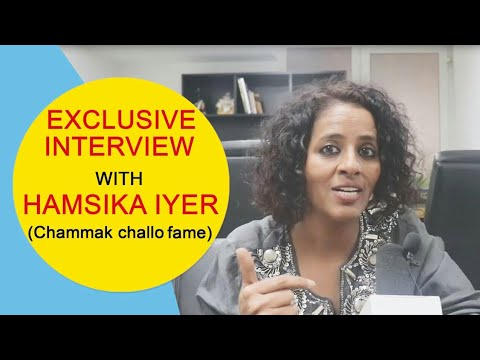 Chammak Challo Singer Hamsika Iyer Latest Interview  Singonline  20 March