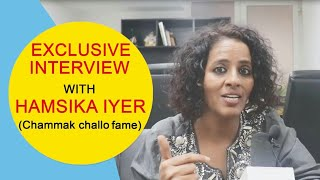 Gambar cover Chammak Challo Singer Hamsika Iyer Latest Interview | Singonline | 20 March