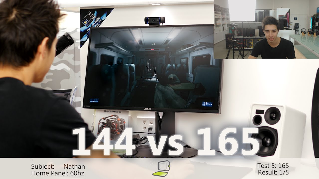 Tested: Can You Tell the Difference Between 144 and 165hz?