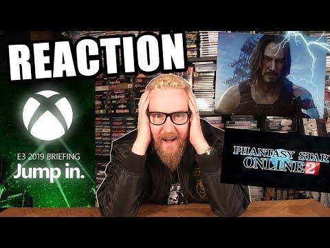 MICROSOFT XBOX E3 2019 REACTION - Happy Console Gamer