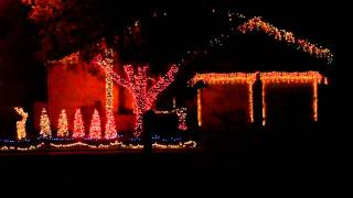 Daft Punk Christmas Light Show