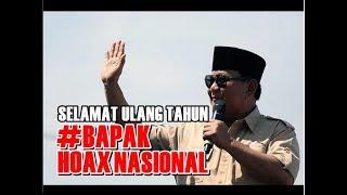 Bikin Heboh! Prabowo Ulang Tahun, #BapakHoaxNasional Jadi Sorotan Dunia