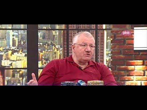 Војислав Шешељ у емисији 'Ново јутро' на РТВ Пинк.