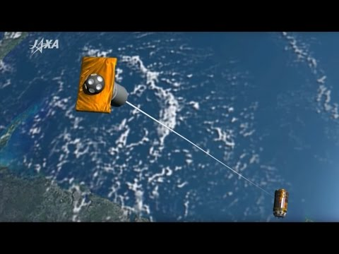 Japan's magnetic tether could clean up space