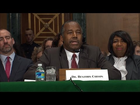 Watch full: Ben Carson's opening statement for HUD secretary