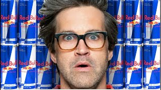 We Drink As Much Redbull As Humanly Possible