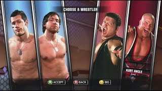 TNA Impact! Part 26 Alex Shelly & Chris Sabin vs. Kurt Angle & AJ Styles Walkthrough XBOX 360