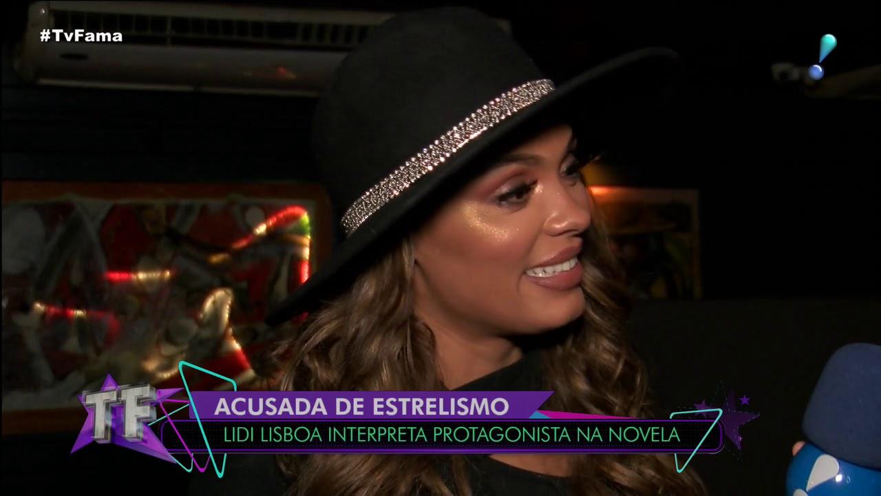"Atriz Lidi Lisboa lidi lisboa nega estrelismo e diz que grava��es de jezabel foram ""puxadas"""