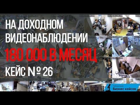 [Кейс №25] Алексей Унжаков | 180 000 в месяц на доходном видеонаблюдении.