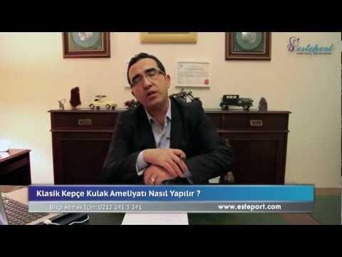 Klasik Kepçe Kulak estetiği ameliyatı & Op Dr Ali Mezdeği