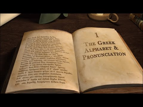 Learning Ancient Greek for Beginners